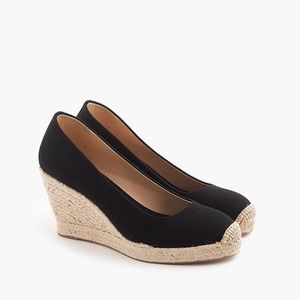 New Without Tags J.CREW Seville Espadrille Wedges